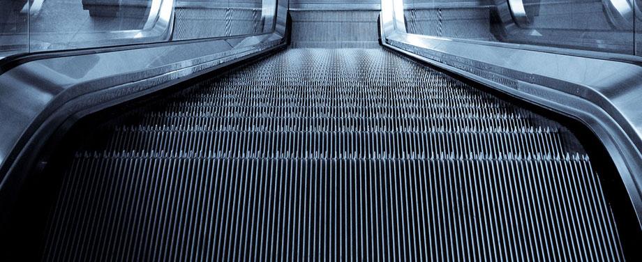 escalator painting